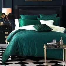 hunter green duvet cover queen colorful luxury fine linens