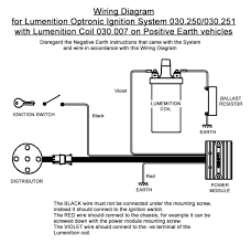 lumenition optronic ignition system for vintage classic cars view print wiring diagram
