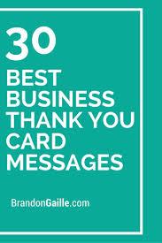 Thank You Cards Business Under Fontanacountryinn Com