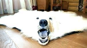 faux bear rug faux polar bear rug polar bear skin rug image of rug polar bear