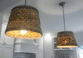 basket ceiling light kitchen pendant light fixtures with basket shades crystal basket ceiling light