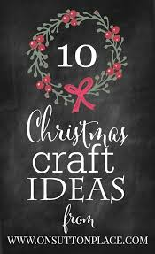 Christmas Fair Craft Ideas