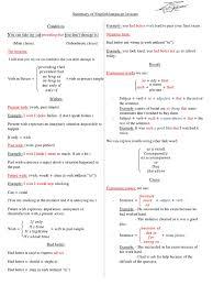 3as English Resumes Perfect Grammar Verb