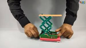Screw Jack Converting Of Rotational Motion To Linear Motion