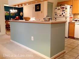 painted kitchen islandsQuick and Easy Change  Painting the Kitchen Island