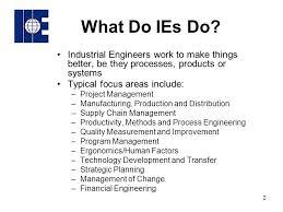 Industrial Engineering Roles In Industry Ppt Video Online Download