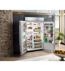 kitchenaid 30 0 cu ft 48 inch width built in side by side refrigerator