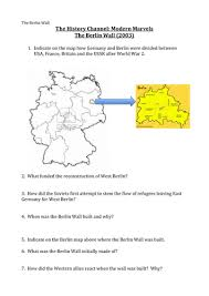 the berlin wall by misslmvr teaching resources tes