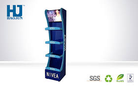 Display Stand Hs Code Blue Nivea Cosmetic Display Stand Face Cream Advertising Floor 12