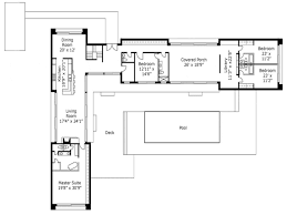 l shaped house plans. House Plan L Shaped Plans Modern Ranch With Garage U .
