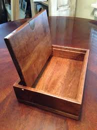 how to build a small wooden box using the parts from an old dresser