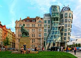 famous architecture in the world. Dancing Building Prague Restaurant In Famous Architecture The World