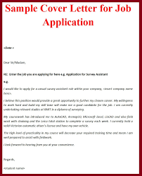 Sample Of How To Write A Cover Letter For A Resume Archives