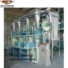 Flour Milling Plant Design Factory Design Of Maize Wheat Flour Milling Mill Plant