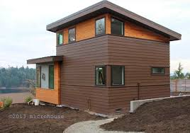 Small Picture Seattle Backyard Cottage Modern Micro House Home Design Ideas
