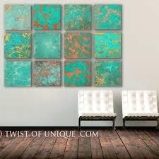 turquoise metal wall art industrial copper wall art huge square panel original turquoise wood and metal turquoise metal wall art  on turquoise wood and metal wall art with turquoise metal wall art wall arts turquoise metal wall art super