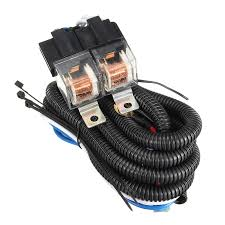 h4 wiring harness reviews online shopping h4 wiring harness hot selling 7 inch h4 2 headlamp relay wiring relay harness car light bulb socket plug for car auto headlight