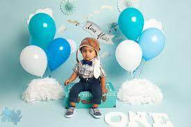 Mississauga Cakesmash Photography 1st Birthday Portraits For Baby