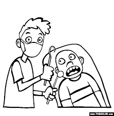 Coloring pages educational coloring free coloring pages new coloring pages contact. Dentist Coloring Page Free Dentist Online Coloring