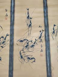 exquisite antique style chinese painting shrimp made by famous painter qi baishi in painting calligraphy from home garden on aliexpress com alibaba