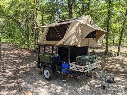 diy roof top tent camper trailer tent