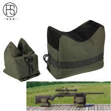 Military <b>Front</b> Rear Bag Support Rifle <b>Sandbag</b> Portable Sniper ...