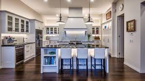 award winning kitchen designs. A Partial Wall Behind The Canopy Divides This Award-winning Kitchen, Effectively Creating Two Award Winning Kitchen Designs