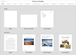 Use Templates Use Templates In Pages On Ipad Apple Support