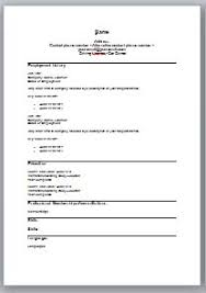 Free Resume Word Format Download Best of Gallery Of 24 Free Cv Templates In Microsoft Word Format Completely