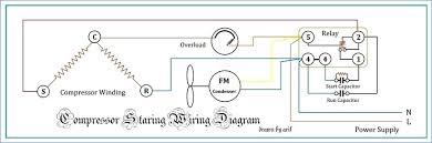 refrigerator compressor wiring diagram kanvamath org Diagram Wiring Motor Capacitor ac pressor wiring diagram new car wiring air conditioning cooling