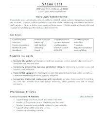 Sample Resume Qualifications List Skills Sample For Resume Resume