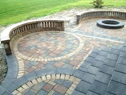 patio paver installation cost best patio cost installed brick paver patio cost michigan patio paver installation cost