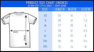 Gildan T Shirt Size Chart Cm Buurtsite Net