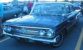 File:'60 Chevrolet Bel Air Sedan (Auto classique Bellepros ...