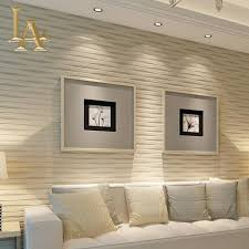Horizontal Wallpaper Designs Beige Living Room Modern Beige Horizontal Striped Wallpaper
