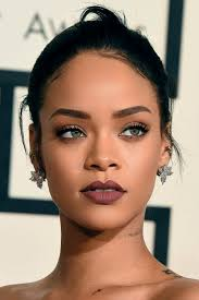 rihanna in brown tones makeup crush more