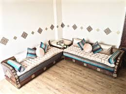 luxurious moroccan sofa couch corner suite majlis bench daybed floor seating arabian seating