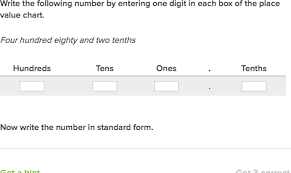 numeric form to word form with decimals decimals in written form hundredths video khan academy