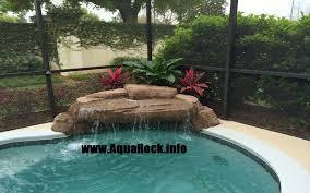 Small Corner Pools Small Pools With Waterfalls Yard