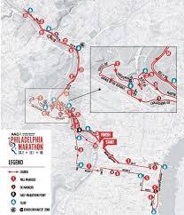 2019 Philadelphia Marathon Info Course Road Closures