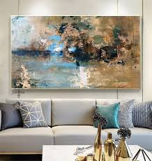 above bed decor extra large wall art