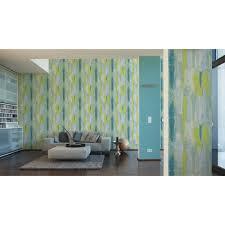 Tapete Vision Streifen Blau Grün Dhalde Dasherzallerliebste Shop