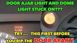 Where Is The Dome Light Switch In A Ford Ranger Door Ajar Dome Light Stuck On Annoying Try This Easy Fix First Before Tearing Apart Door