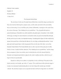 essay ad analysis revised final draft  lambert 1 robert curtis lambertenglish 101professor bolton13 2012