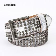 geersidan new fashion designer belt for men pin buckle luxury genuine leather vintage high quality business male belts