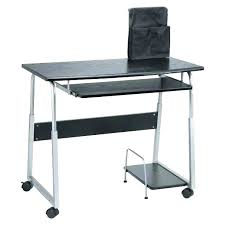 small portable computer desk on wheels mobile table workstation a51