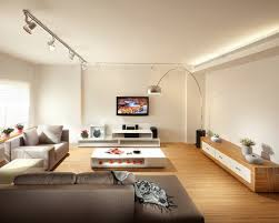 track lighting in living room. Interior, Track Lighting Living Room With Grey Upholstery Sofa Square White Table Arc Lmap And In S