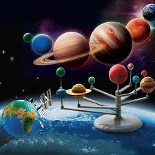 model solar system planets