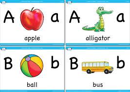 Alphabet Vocabulary Flashcards Set 1 Super Simple