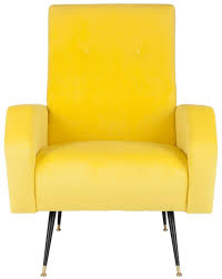 absorbing yellow chair pics for your favourite house curious fox6258a accent chairs furniture safavieh throughout yellow furniture i28 yellow